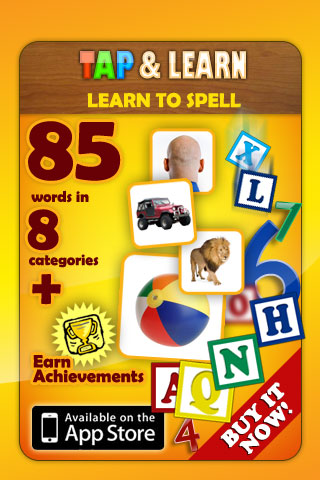 Tap N Learn – Learn to Spell - Educational App